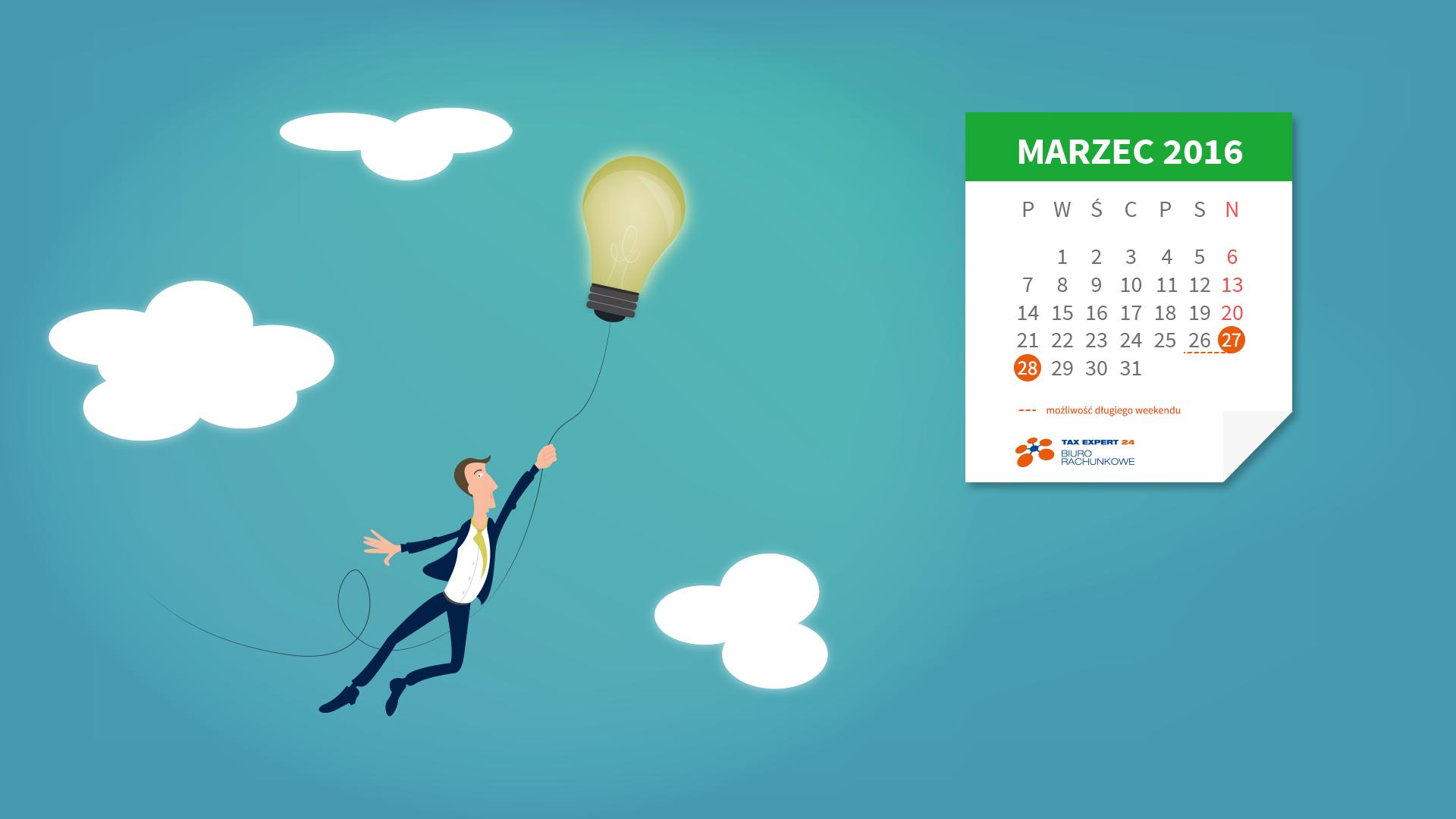 Kalendarze 2016 Na Pulpit Do Pobrania Za Darmo Taxexpert24